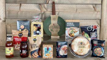 Oosters pakket met pan van gerecycled materiaal - kerstpakket Kruger Geschenken