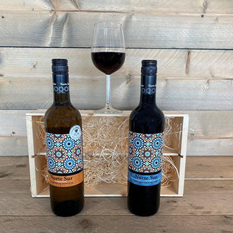 Norte Sur 2 Flessen Wijn Kruger Geschenken