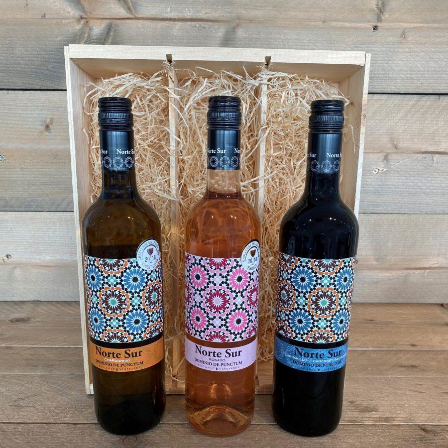 Norte Sur 3 Flessen Wijn Kruger Geschenken